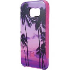 Modal - Case for Samsung Galaxy S 6 Cell Phones - Black/Purple/Pink - Front Zoom
