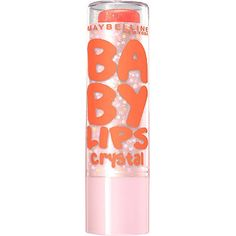 Megan: Maybelline Baby Lips Crystal / gleaming coral