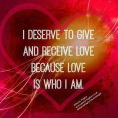 I love, respect, and appreciate people.