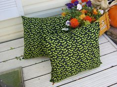 19x21 Halloween pillow by 12dozen on Etsy