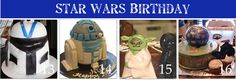 Star Wars Birthday Cake Tutorials