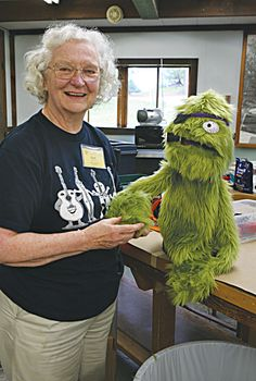 Hand-and-Rod Puppet Construction Class at the Folk School
