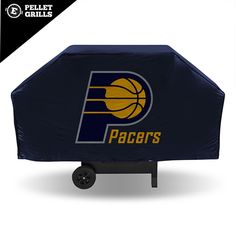 Show your favorite team and protect your barbeque grill at the same time! The lightweight grill cover is made of vinyl, and the stitching is tested at 30 lb. pull strength. The hook and loop velcro closures hold the cover in place.  http://www.epelletgrills.com/indiana-pacers-nba-economy-barbeque-grill-cover Drag photos here Add Photos:Upload from computerYour Google photos