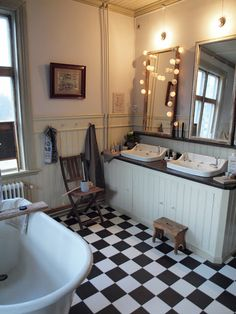 Old school bathroom