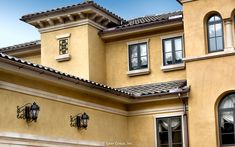 The attention to detail on Villa Belle's exterior is impressive.