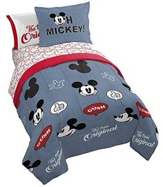 Product Image Of Mickey Mouse Americana Bedding Collection