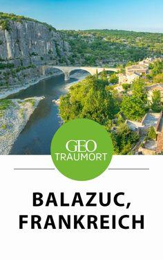 Balazuc, Frankreich: Über der Ardèche thront eins der schönsten Dörfer Frankreichs. Was macht Balazuc so besonders? Und wann solltest du den malerischen Ort an der Ardèche am besten besuchen? Tipps und Infos findest du im Artikel