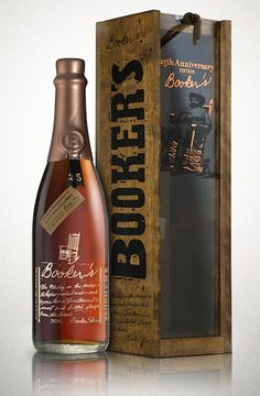 Booker's 25th Anniversary 10 Year Old Bourbon