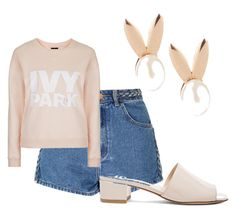 """""""casual dressing"""" by msraver on Polyvore featuring Glamorous, Aamaya by priyanka, Topshop and Maryam Nassir Zadeh"""