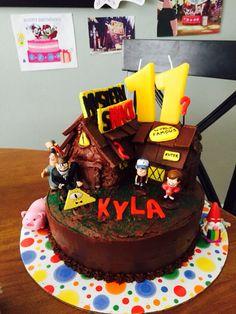 Gravity Falls Cake! Mystery shack