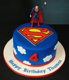 28 Best Superman Cakes Images Birthday Cakes Fondant Cakes