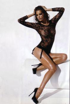Irina Shayk's Latest Sexy See-through Lingerie Photoshoot-Global Intimate Wear