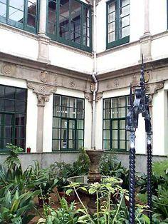 Ha. 1539-40. Palacio de los Marqueses de Malpica (Toledo). Patio diseñado por Alonso de Covarrubias.