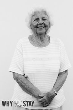 Black and white portrait from a rural town from the Why We Stay project.  http://www.whywestay.com.  Portraits by Nathan Larson and Chris Cammock.