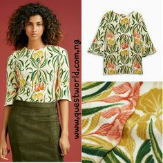 Fluted Sleeve Next Top size 10 12 14 18 #6000 www.questworld.com.ng pay on delivery in lagos. Nationwide delivery.