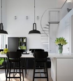 Visualizations modern apartments inspiring industrial lighting classic colors interior design flowers Chair