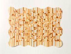 Op-Art Weaving craft