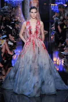 Elie Saab Fall 2014 Couture Fashion Show - Mijo Mihaljcic (IMG)