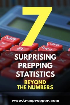 7 Surprising Prepping Statistics_ Beyond the Numbers Some prepping facts are just hard to ignore. When people argue against preparedness, history, science, and statistics are stacked against them. Doomsday Prepping, Survival Prepping, Emergency Preparedness, Survival Skills, Survival Gear, Risk Analysis, Urban Survival, Survival Quotes, Natural Disasters
