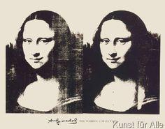Andy Warhol - Double Mona Lisa, 1963