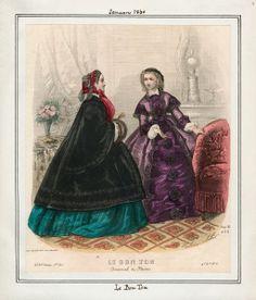 In the Swan's Shadow: Le Bon Ton, January 1860