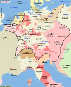 Central Europe, 1648