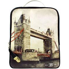 Αυτή την ευκαιρία δεν πρέπει να την χάσεις:Σακίδια πλάτης με print Tower Bridge Λευκό στην μοναδική τιμή των...