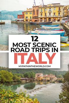 Looking for the best Italian road trips? Here are12 roads trips in Italy for your travel bucket list inculding itineraries and tips!