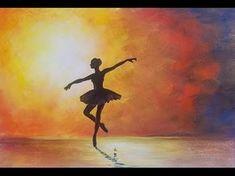 Beste afbeeldingen van ballerina schilderij manualidades do