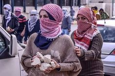 Brave girls... Free palestine