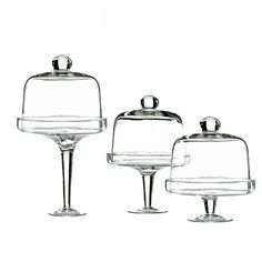 Kitchen - I pinned this 3 Piece Covered Pastry Stand Set from the Dear Lillie event at Joss and Main!