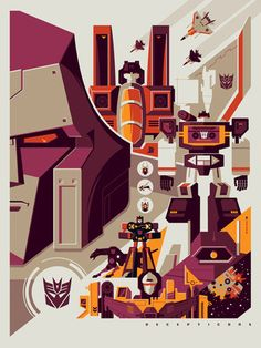 Decepticons by Tom Whalen