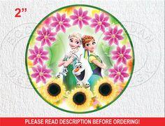 Frozen Fever Cake topper 2 Frozen Fever by BogdanDesign on Etsy