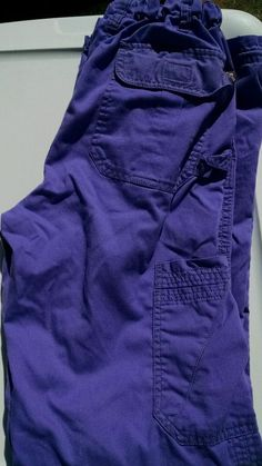 Koi Lindsey scrub pants light purple xs tall  #Koi