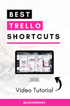 Take your productivity to the next level with these easy Trello shortcuts. What is Trello? Trello is an online productivity tool that helps you manage your t. Focus At Work, Work Productivity, Blogger Tips, Virtual Assistant, How To Start A Blog, Are You Happy, Group, How To Plan, Boss Babe