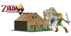 LEGO Ideas - The Legend of Zelda : A Link Between Worlds, Link's House