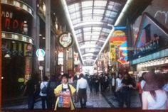 Shopping, Osaka