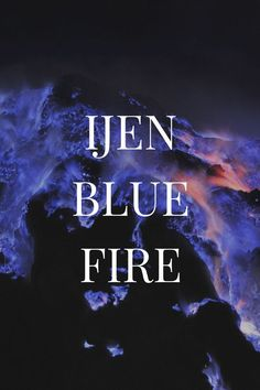 Experience the Ijen Indonesia Blue Fire Photography in Bali, Indonesia.