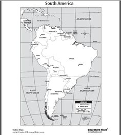 South America Lapbook and Mini Unit South america Geography and