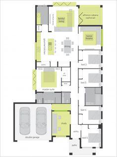 Santa Fe Two Upgrades - Floor plan
