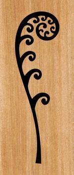 This fabulous New Zealand Koru Fern Frond panel will look great either inside your home or on an outside wall fence. Sgraffito, Koru Tattoo, Thai Tattoo, Small Tattoos, Tattoos For Guys, Maori Symbols, Maori Patterns, New Zealand Tattoo, Hawaiian Tattoo