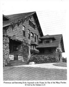 The Lucien Oudin estate designed by Grosvenor Atterbury c. 1900.