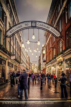 Welcome to Carnaby Street London