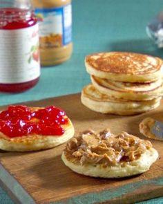 How to make PB & J Pancakes