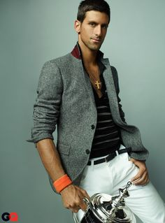 oh, Djokovic...Nadal is a way better tennis player than you!....but you do take pretty pictures