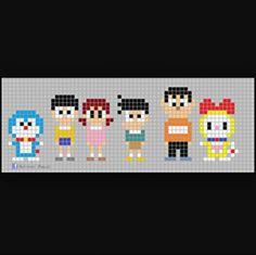 Doraemon hama beads
