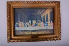 Prent twaalf apostelen - ter herinnering van de heilige communie
