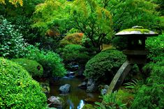 Portland Japanese Garden by coulombic.deviantart.com on @deviantART