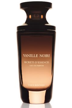 **Vanille Noire (This scent was created using the three best types of Vanilla, which reveal a treasure trove of nuances and subtleties on your skin: absolute of Bourbon Vanilla, sensual with leathery accents; absolute of Tahitian Vanilla, soft and floral; and absolute of Uganda Vanilla, with its woody, spicy character.)