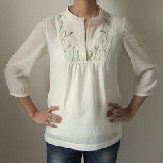 Tova top.--LOVE, LOVE, LOVE these sleeves!